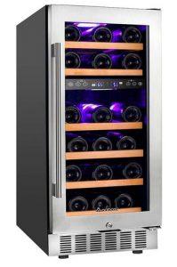 Aobosi JC-85B Dual Zone Wine Fridge