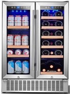 Aobosi YC120-2D Wine Beverage Refrigerator