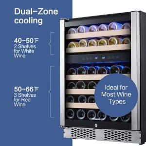 Best Feature of Staigis ST-24046 Wine Refrigerator
