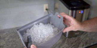 Box full of Nugget Ice