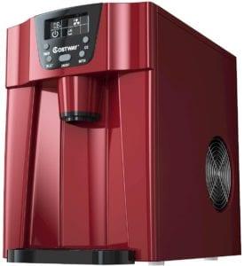 COSTWAY 2 in 1 Countertop Ice Maker & Water Dispenser
