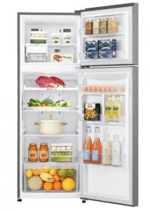 Counter depth refrigerator with freezer