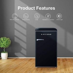 Galanz GLR35BKER Compact Refrigerator