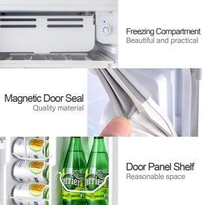 Kuppet 1022002400-2600 Compact Refrigerator