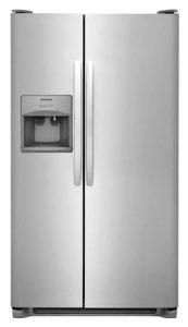 Frigidaire FFSS2315TS 33 Inch Side Refrigerator