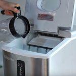 How to setup portable ice maker