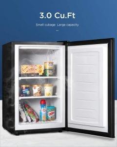 Northair 3.0 Cu Ft Upright Freezer