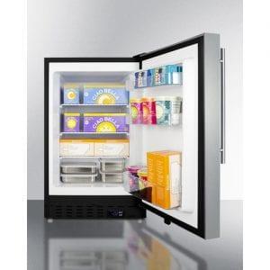 Internal Design of Summit ALFZ37BSSHV Freezer