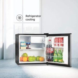 Internal Features of Midea WHS-65 LB1 Compact Single Door Refrigerator