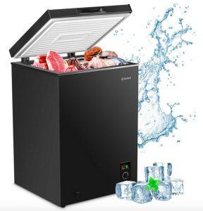 Moosoo MD35-B Compact Chest Freezer