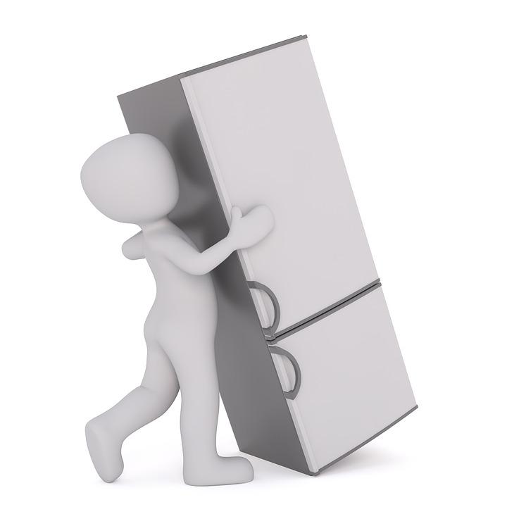 Moving Refrigerator