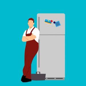 Refrigerator after transportation