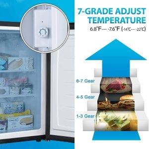 Euhomy MF-3.0-Y Upright Freezer