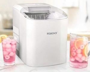 Using Igloo ICEB26WH at Countertop