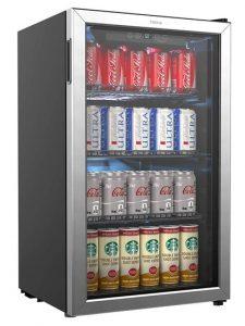 hOmeLabs 120 Can Beverage Cooler